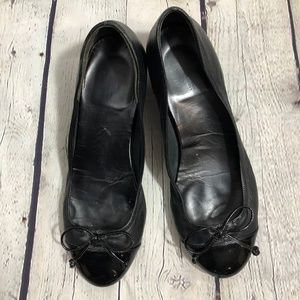 Cole Haan Nike Air Bow over toes Black Wedge